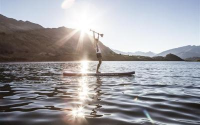 MISTRAL – Melody Sky shooting SUP in New Zealand