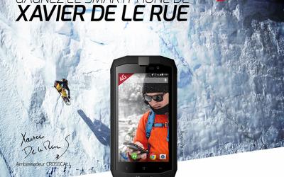 CROSSCALL – Xavier as ambassador to durable smartphone